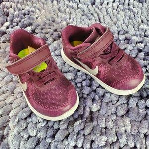 Nike Toddler Tennis Shoes Fuchia Size 4C